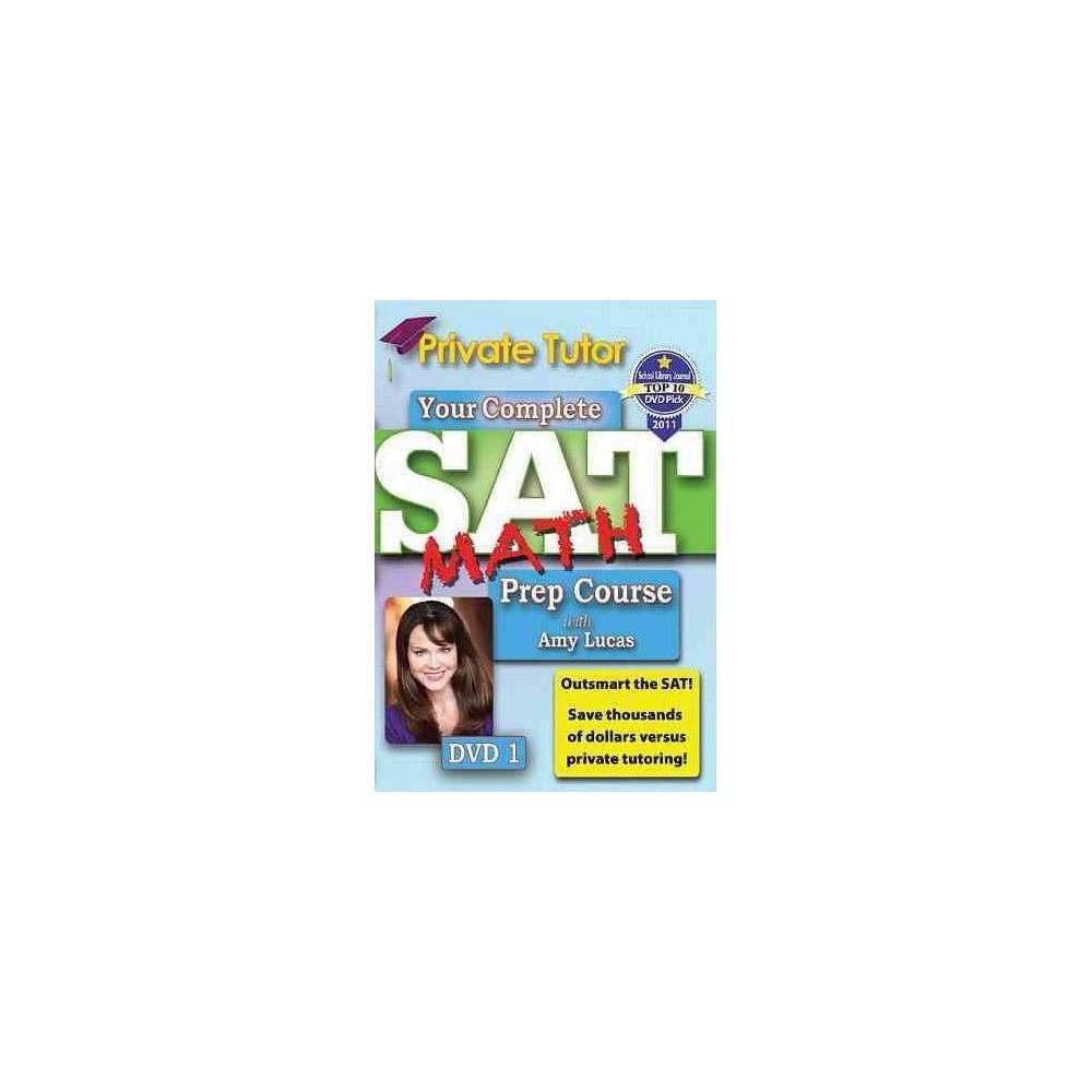 Sat Math Prep Course Vol 1 (Dvd)