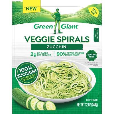 Green Giant Veggie Spirals - Frozen Zucchini - 12oz