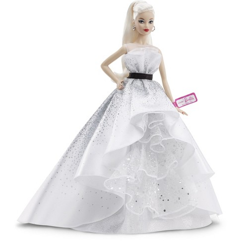 Barbie Collector 60th Anniversary Celebration Doll - image 1 of 4