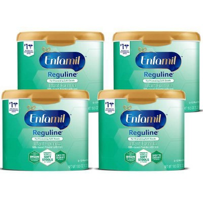 Enfamil Reguline Infant Formula Powder - 19.5oz/4pk Each