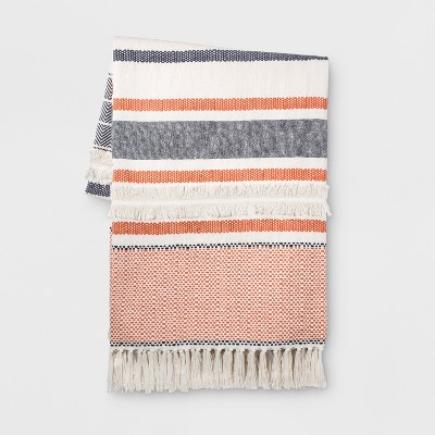 Coral Moroccan Oversized End of Bed Throw - Opalhouse™
