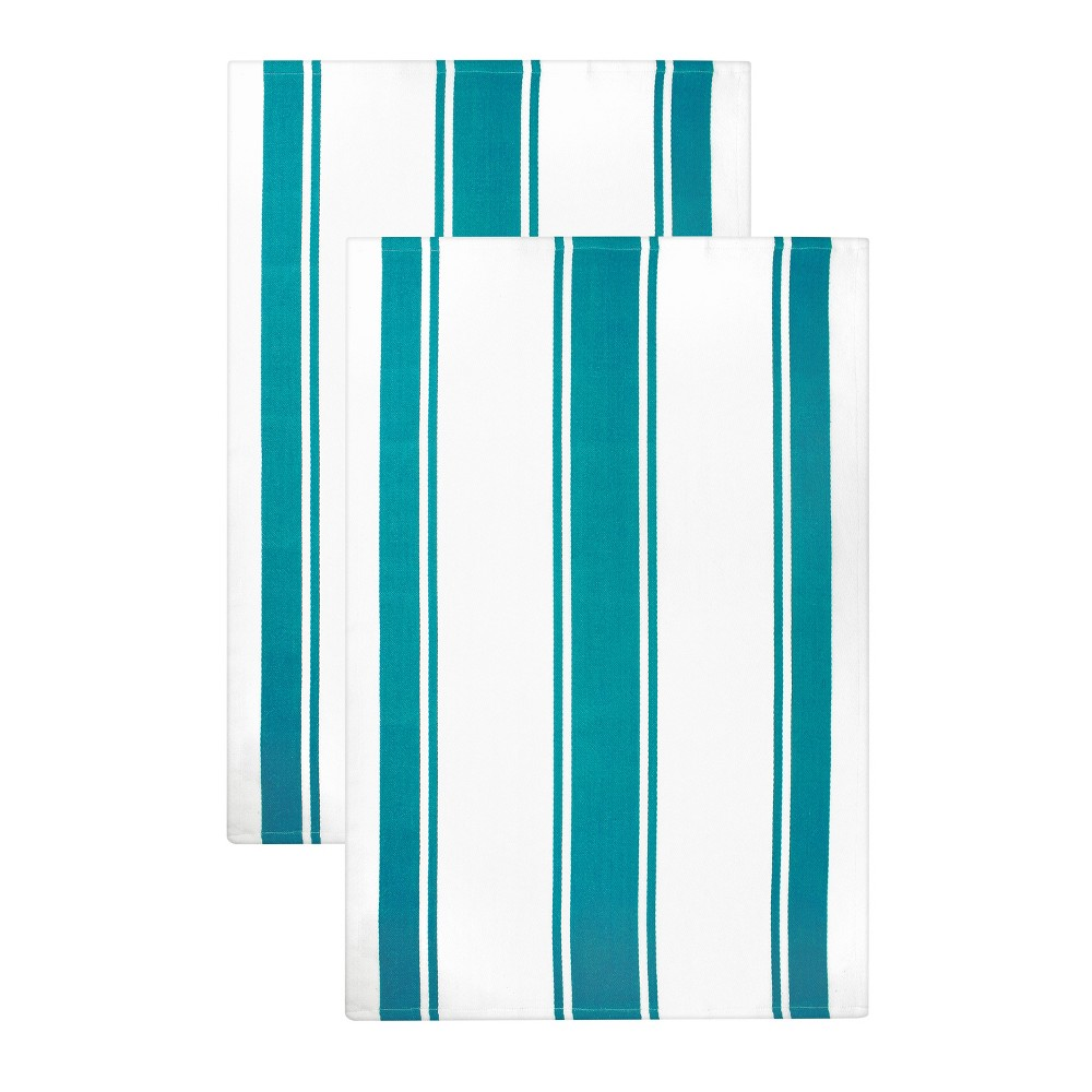 "Image of ""2pk Aqua (Blue) Kitchen Towel (20""""x 30"""") - MUkitchen"""