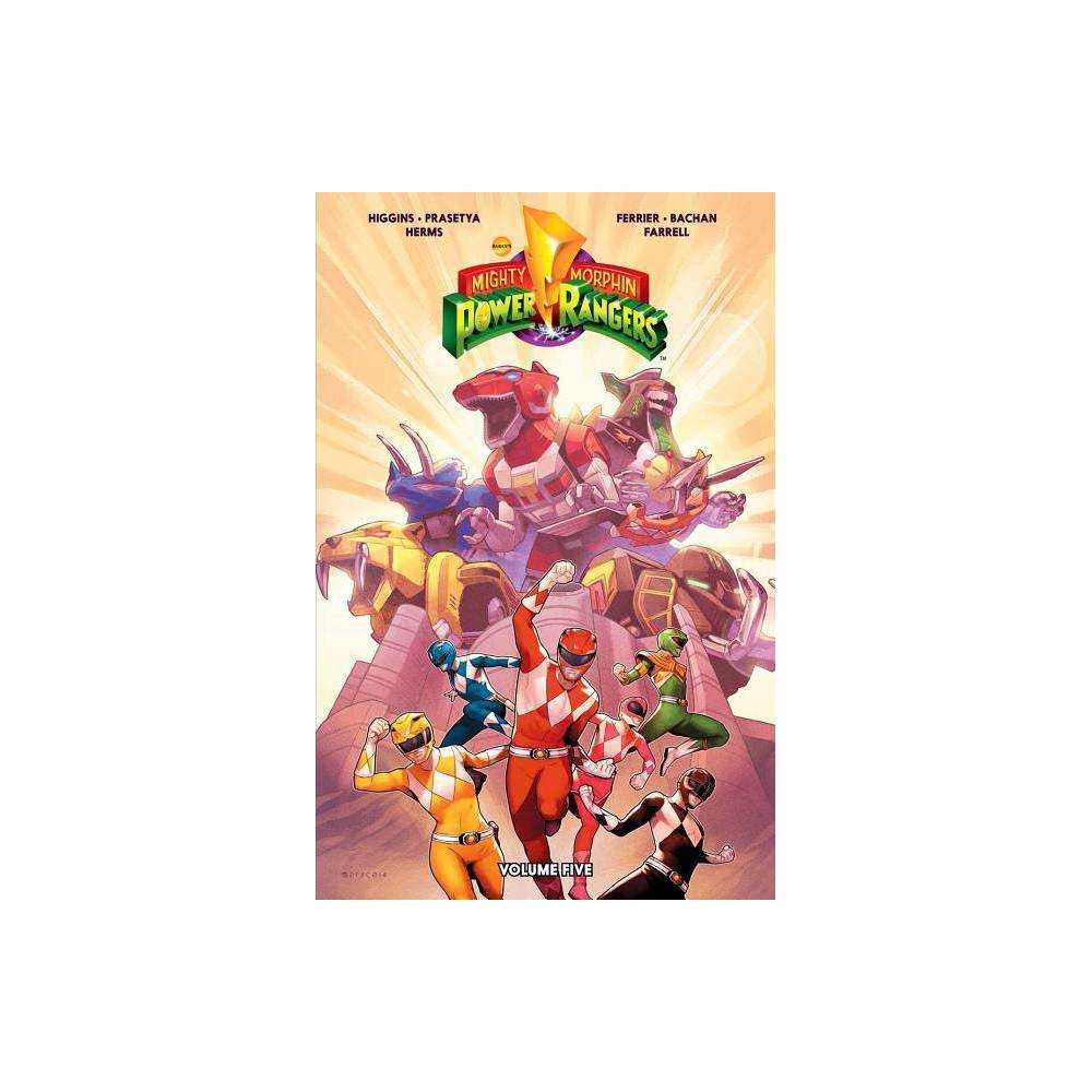 Mighty Morphin Power Rangers Vol. 5, Volume 5 - by Kyle Higgins & Ryan Ferrier (Paperback) was $16.99 now $11.39 (33.0% off)