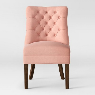 Winslow Tufted Back Slipper Chair Blush - Threshold™