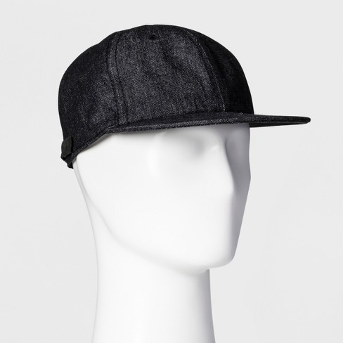Men's Baseball Cap - Goodfellow & Co™ - Black One Size - image 1 of 2