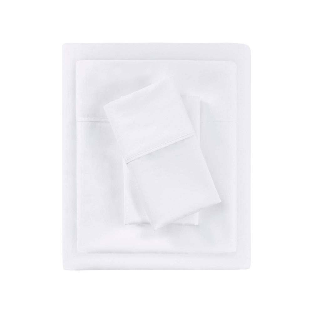 California King 700 Thread Count Sheet Set White Beautyrest
