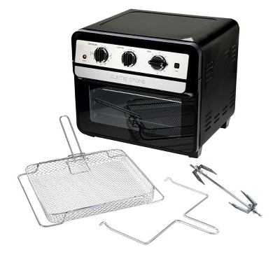 Curtis Stone Dura-Electric 1700-Watt 22L Air Fryer Oven with Rotisserie Model 698-469 Refurbished