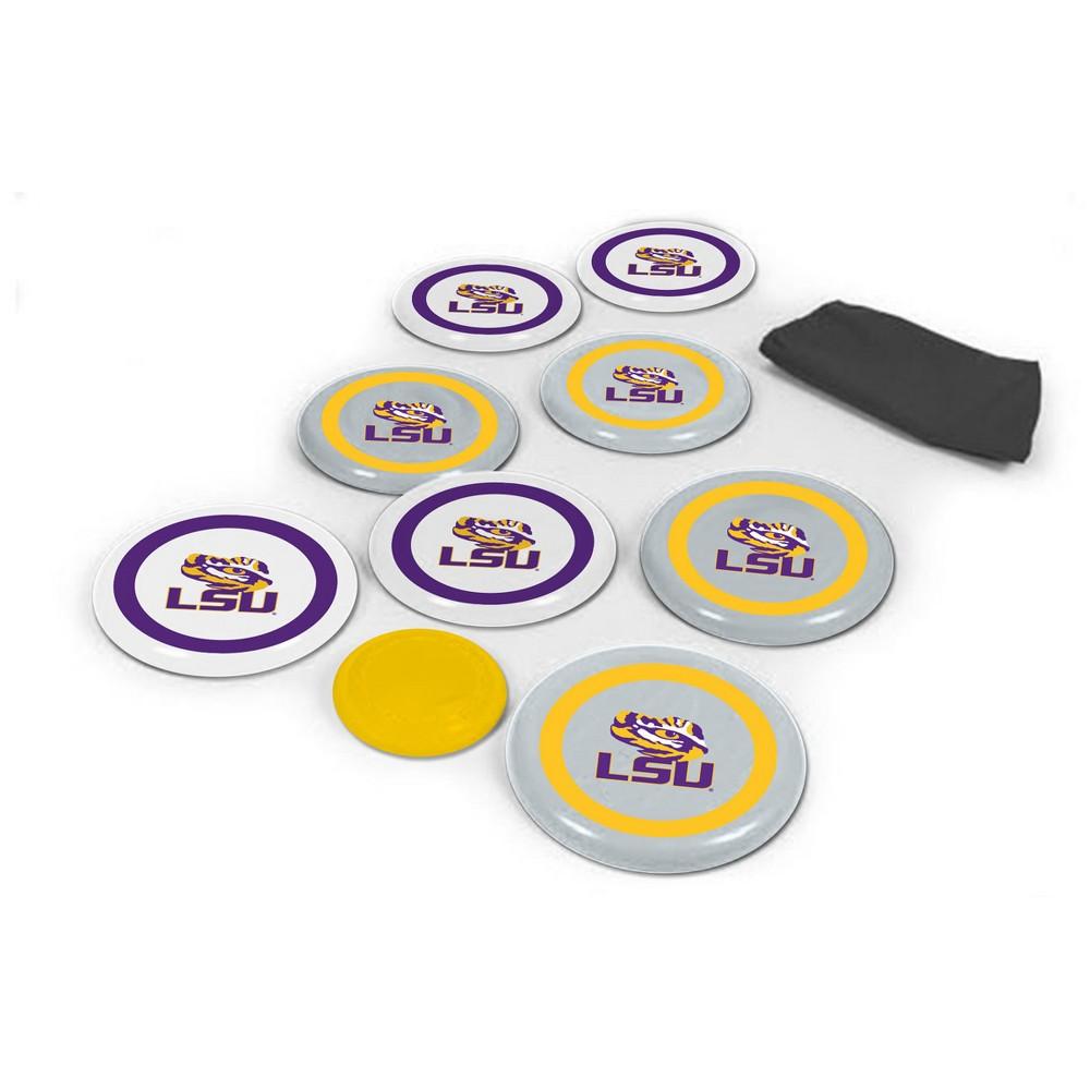 NCAA Wild SportsDisc Bocce Lsu Tigers, Purple/Gold