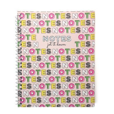 Jot It Down Spiral Notebook 1 Subject - Gartner Studios