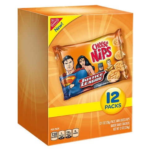 Cheese Nips Justice League Crackers - 12oz - image 1 of 1