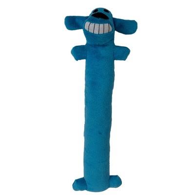 "Multipet Loofa Dog Toy - Blue - 12"""