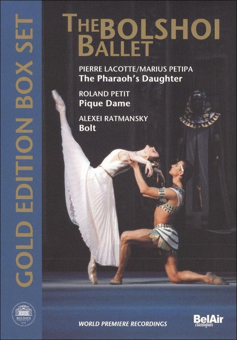 Bolshoi ballet gold edition box set:P (DVD) - image 1 of 1