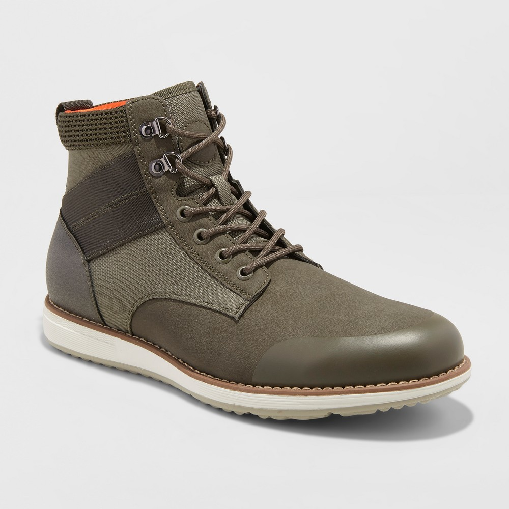Men's Phil Casual Fashion Boots - Goodfellow & Co Olive 11, Green