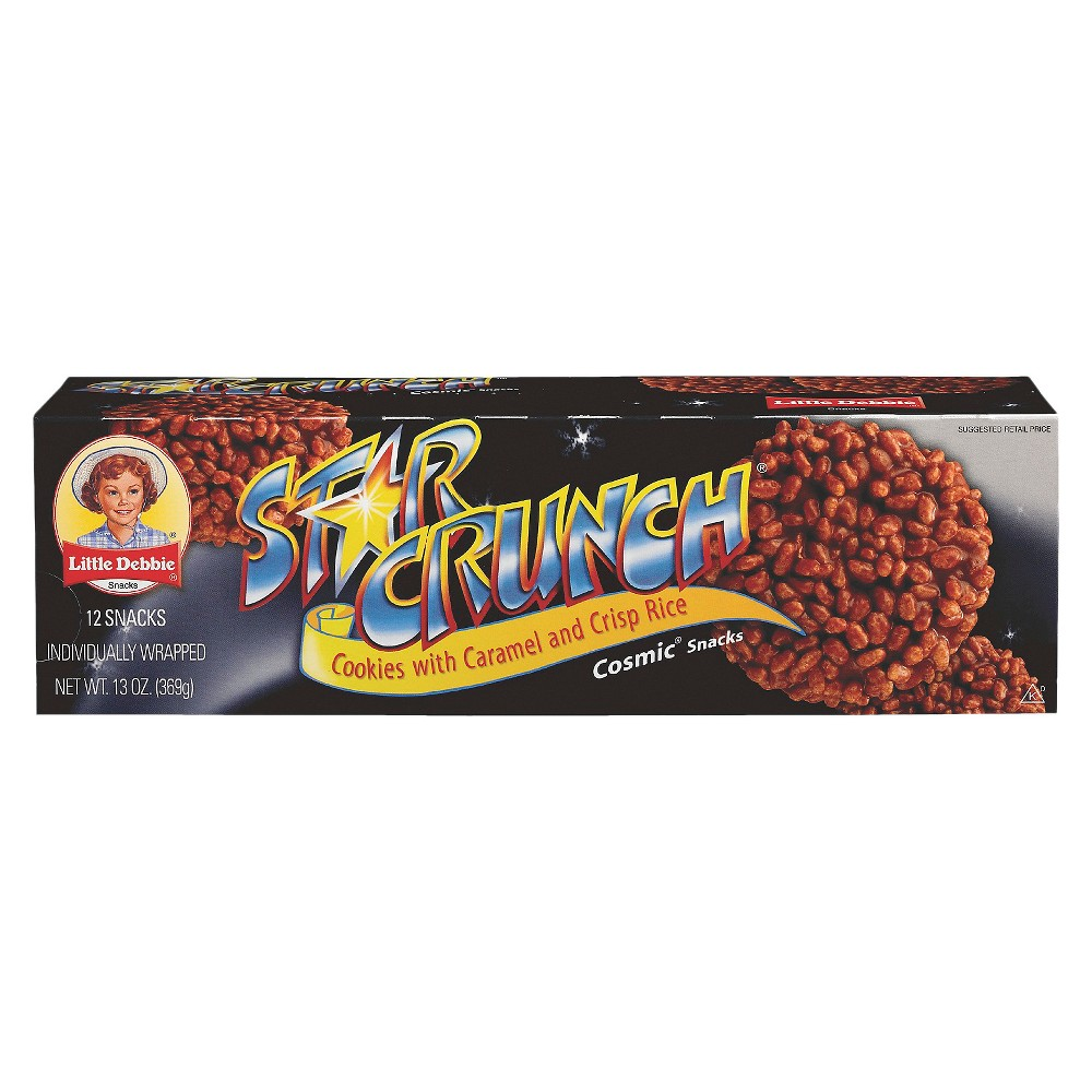 Little Debbie Star Crunch Crisp Snacks 12ct