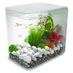 biOrb Flow 15 with LED Lights Aquarium - White