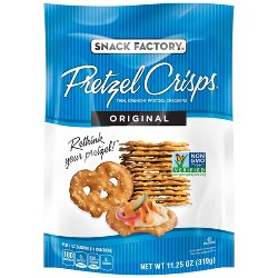 Pretzel Crisps Original Pretzel Crackers - 11.25oz