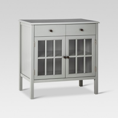 Windham Storage Cabinet with Drawer Gray - Threshold™