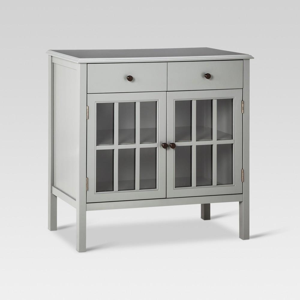 Windham Storage Cabinet with Drawer Gray - Threshold