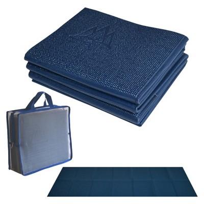 Khataland YoFoMat  Ultra Thick Yoga Mat XL - Midnight Blue (6mm)