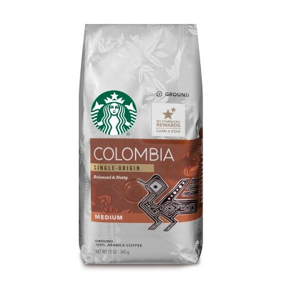 Starbucks Colombia Medium Roast Ground Coffee - 12oz