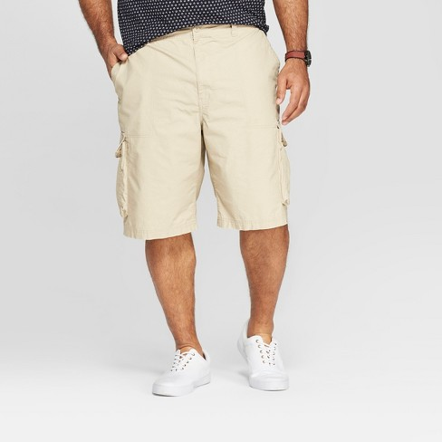 7b12582b30 Men's Big & Tall Cargo Shorts - Goodfellow & Co™ Pita Brown : Target