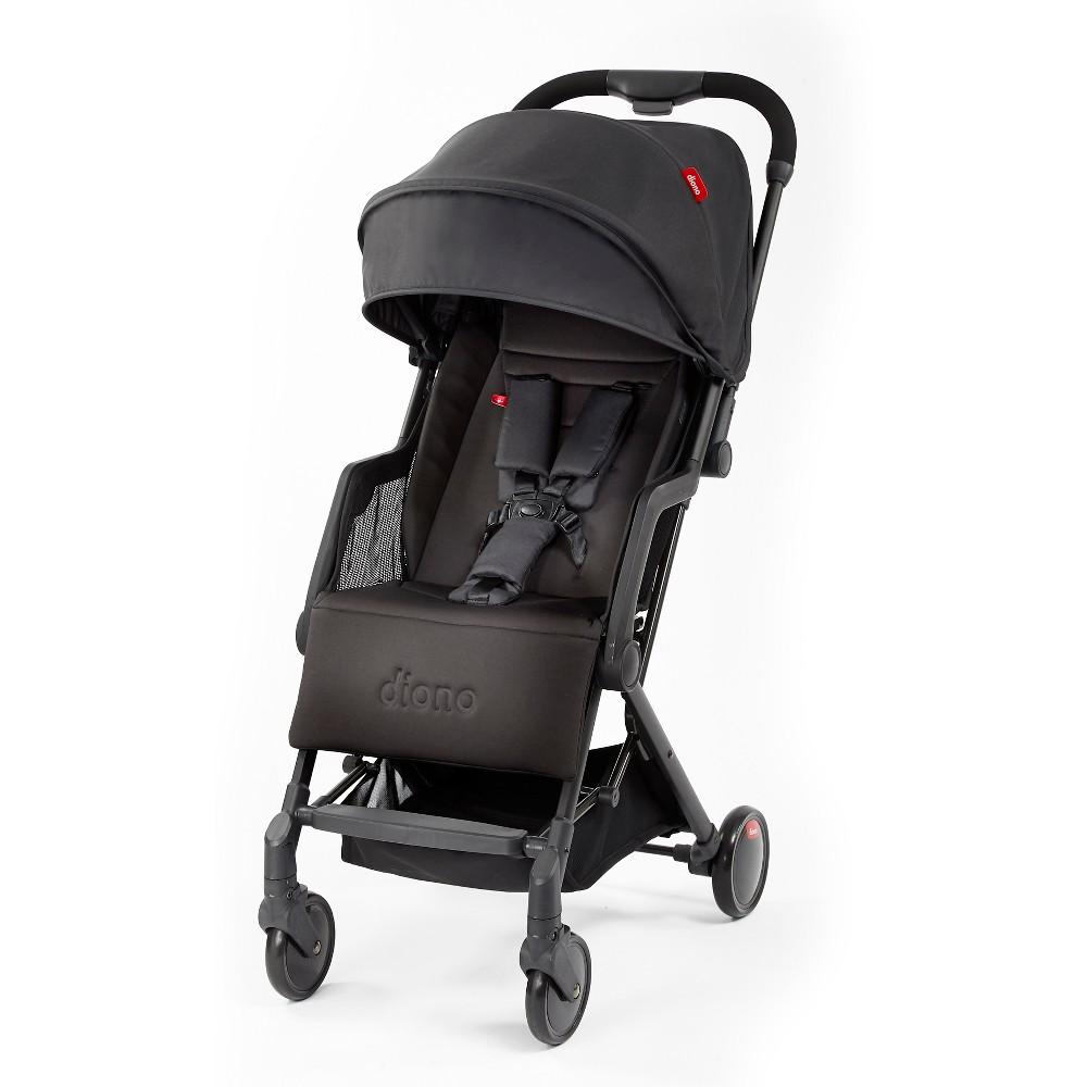 Diono Traverze Plus Lightweight Compact Travel Stroller - Black