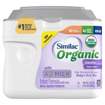 Similac Organic A2 Infant Formula Powder 23 2oz Target