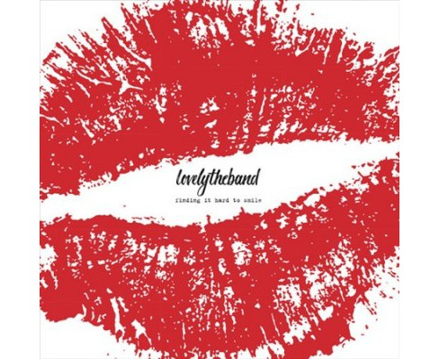 Lovelytheband - Finding It Hard To Smile (Autographed (Vinyl) - image 1 of 1
