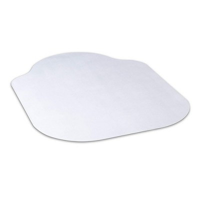 3'x4' Square Office Chair Mat Clear - Evolve