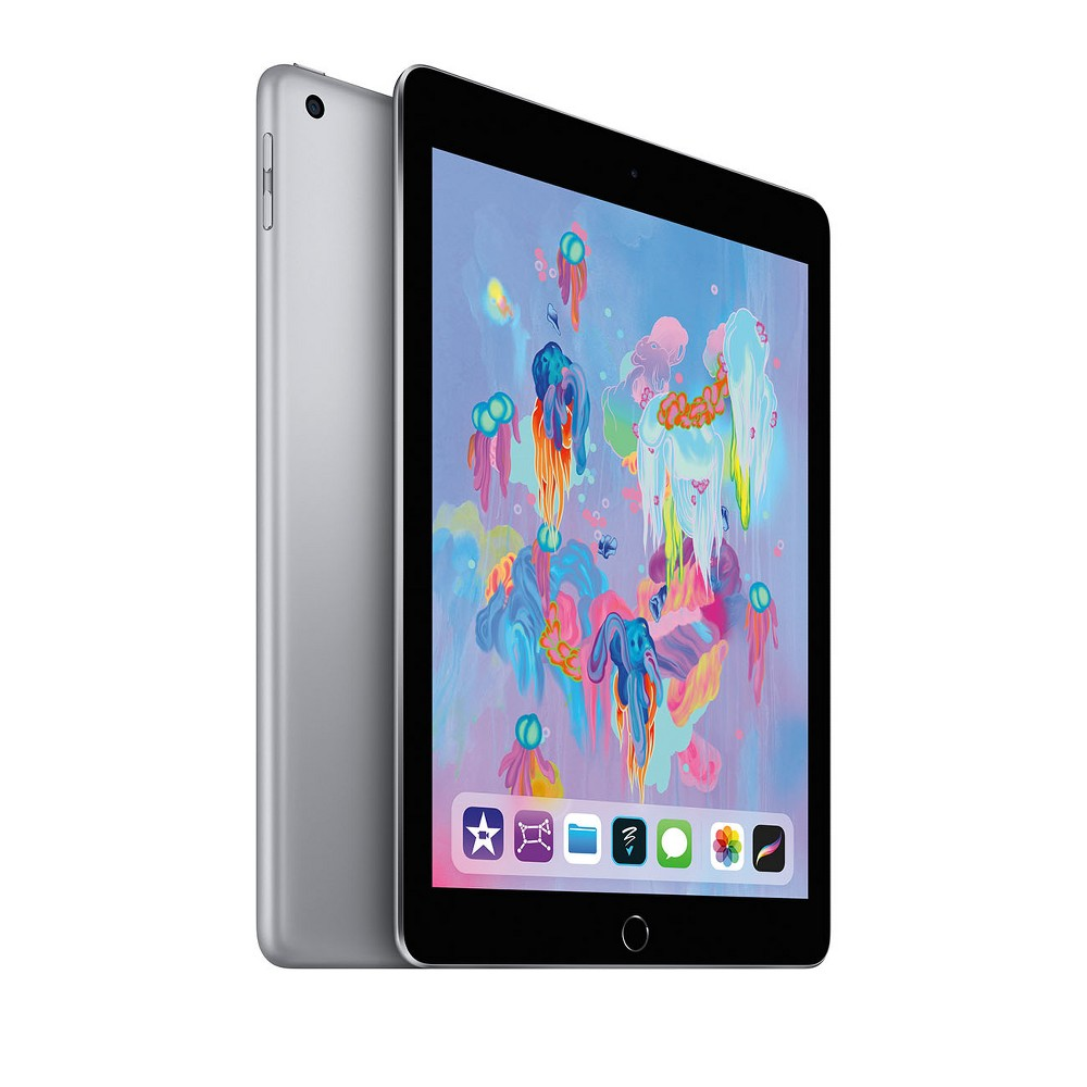 Apple iPad 9.7-inch 32GB Wi-Fi Only (2018 Model, 6th Generation, MR7F2LL/A) - Space Gray