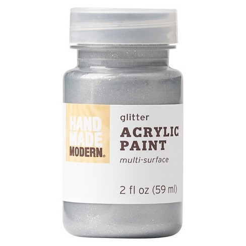Hand Made Modern - 2oz Glitter Acrylic Paint - image 1 of 1