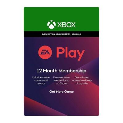 EA Play: 12 Month Membership - Xbox Series X|S/Xbox One (Digital)