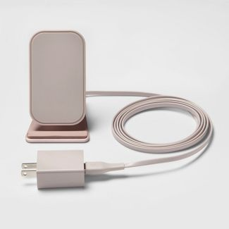 heyday™ Qi Wireless Charging Stand - Rose Gold