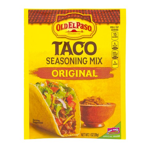 Old El Paso Taco Seasoning Mix Original 1oz Target