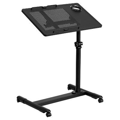 Merveilleux Black Adjustable Height Steel Mobile Computer Desk   Flash Furniture