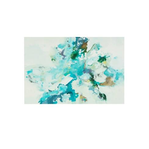 Remeet Gel Coat Unframed Wall Canvas Blue - image 1 of 5