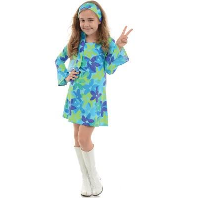 Underwraps Costumes Harmony Hippie Child Costume