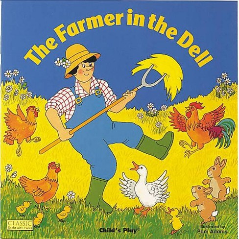 The Farmer in the Dell - (Classic Books with Holes 8x8) (Paperback) - image 1 of 1