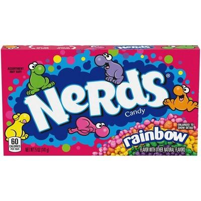 Nerds Rainbow Theater Box Candy - 5oz