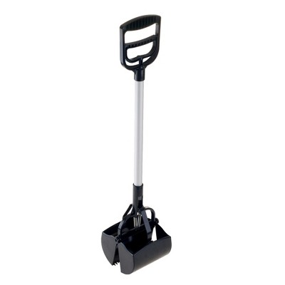 Petmaker Portable Heavy Duty Spring Load Action Jumbo Pooper Scooper