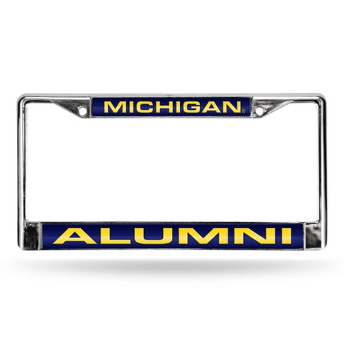 NCAA Michigan Wolverines Alumni Laser Chrome Frame - image 1 of 1