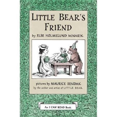 Little Bear's Friend - (I Can Read Level 1)by Else Holmelund Minarik (Hardcover)