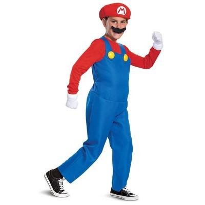 Kids' Deluxe Nintendo Super Mario Halloween Costume Jumpsuit