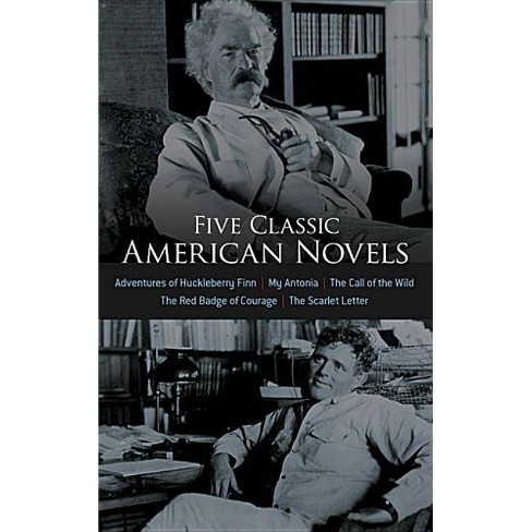 Five Classic American Novels - (Dover Thrift Editions) by  Dover Publications Inc (Mixed media product) - image 1 of 1