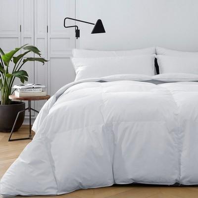 Puredown Winter White Goose Down Fiber Gusseted comforter