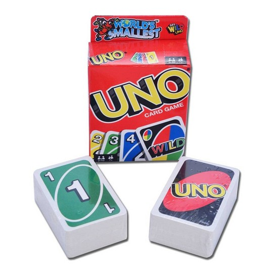 World's Smallest Uno Game image number null