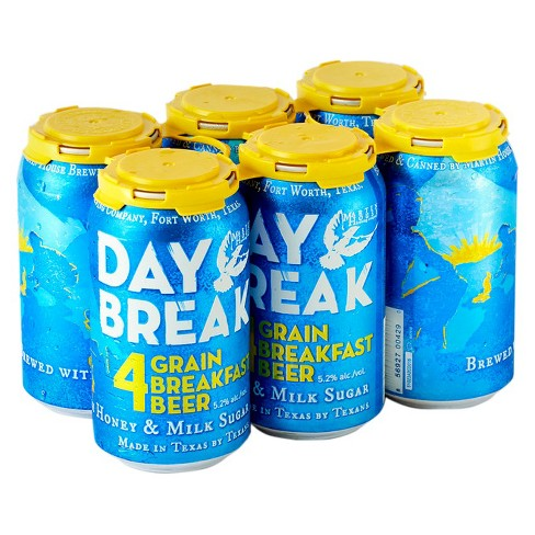 Martin House® Day Break Breakfast Beer - 6pk / 12oz Cans - image 1 of 1