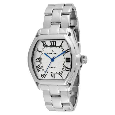 516b9e229ae50 Peugeot Women s Roman Numeral Bracelet Watch - Silver