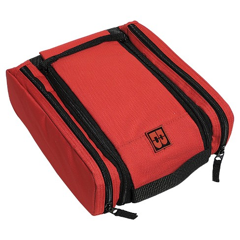 Men's Double Zip Travel Bag - Red - image 1 of 3