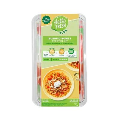 HelloFresh Flex Burrito Bowls With Charred Corn & Tomato Salsa Meal Starter Kit - 31.6oz